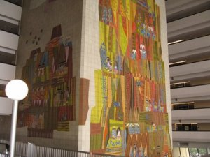 Mosaic Mural at Disney's Contemporary Resort
