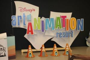 Disney's Art of Animation Resort Hotel Sign