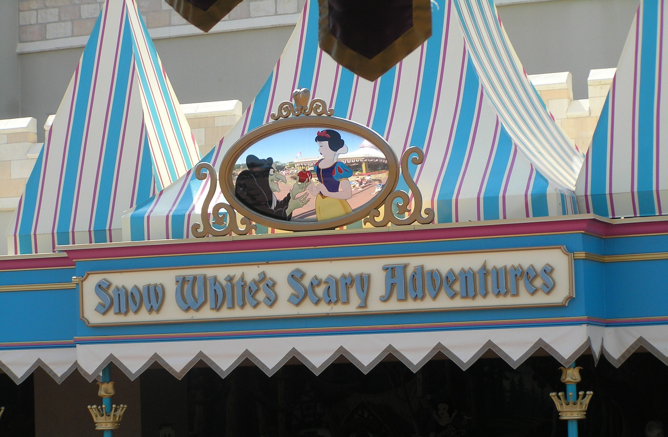 Image result for snow white's scary adventures disney world